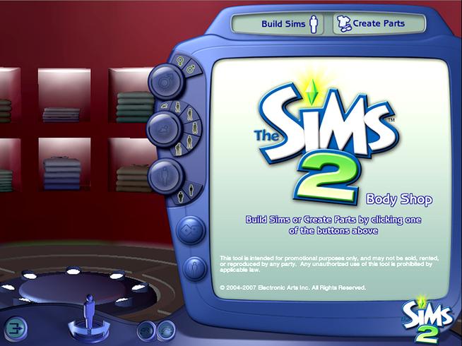 Sims 2 bodyshop download new version